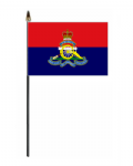 Royal Artillery Regiment Hand Flag - Small.